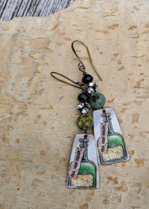 Handmade Vintage Halloween Earrings - Pick Your Poison - Minxes' Trinkets