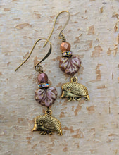 Load image into Gallery viewer, Hedgehog earrings - Bracken