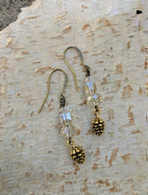 Load image into Gallery viewer, Pinecone Earrings - Minxes' Trinkets