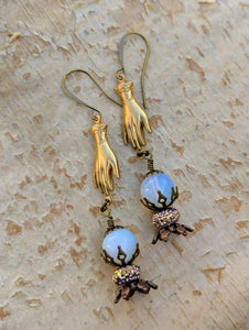 Fortune Teller Crystal Ball Earrings - Future is Unclear