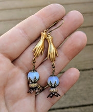 Load image into Gallery viewer, Fortune Teller Crystal Ball Earrings - Future is Unclear