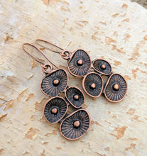 Load image into Gallery viewer, Copper Mushroom Earrings - Minxes' Trinkets
