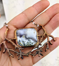Load image into Gallery viewer, Electroformed Winter Branches with Dendritic Opal - 5 - Minxes' Trinkets