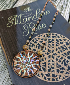 Limited Release - Mandore Rose Necklace and Signed Novel Set - 6 - Minxes' Trinkets