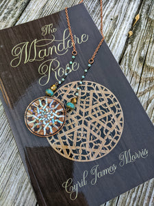 Limited Release - Mandore Rose Necklace and Signed Novel Set - 3 - Minxes' Trinkets