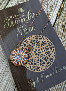 Limited Release - Mandore Rose Necklace and Signed Novel Set - 2 - Minxes' Trinkets