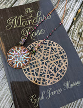 Load image into Gallery viewer, Limited Release - Mandore Rose Necklace and Signed Novel Set - 1 - Minxes' Trinkets