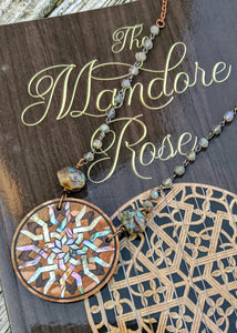 Limited Release - Mandore Rose Necklace and Signed Novel Set - 7 - Minxes' Trinkets