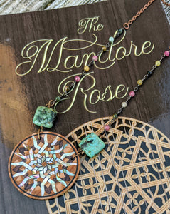 Limited Release - Mandore Rose Necklace and Signed Novel Set - 8 - Minxes' Trinkets