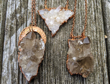Load image into Gallery viewer, Copper Electroformed Druzy Quartz Cluster I - Minxes' Trinkets