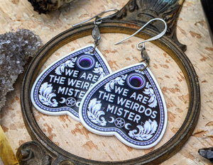 'We Are The Wierdos' The Craft Earrings
