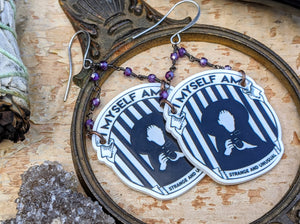 'Strange & Unusual' Beetlejuice Lydia Earrings