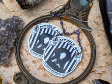 Load image into Gallery viewer, 'Strange & Unusual' Beetlejuice Lydia Earrings