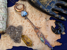Load image into Gallery viewer, Copper Electroformed Witch Broom Besom #7