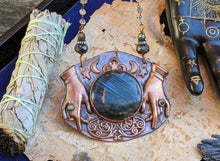 Load image into Gallery viewer, Copper Electroformed Fortune Teller Necklace - 2