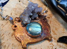 Load image into Gallery viewer, Witch's Cauldron Copper Electroformed Necklace - 3