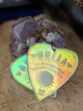 Load image into Gallery viewer, Iridescent Ouija Planchette Earrings - Minxes Trinkets Exclusive - #2
