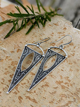Load image into Gallery viewer, Antiqued Silver Plated Earrings III