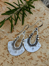 Load image into Gallery viewer, Antiqued Silver Plated Earrings I