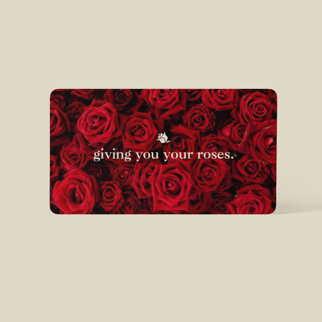 (Your Roses) Gift Card