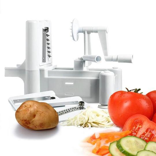 Table Top Spiral Vegetable Cutter