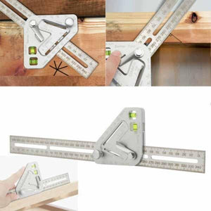 Accurate Angle Measuring Ruler