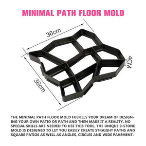 Path Floor Molding Pattern