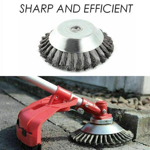 Break-Proof Steel Trimmer Head