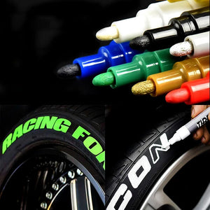 Authentic Waterproof Tire Paint Pen (4pcs. Set)