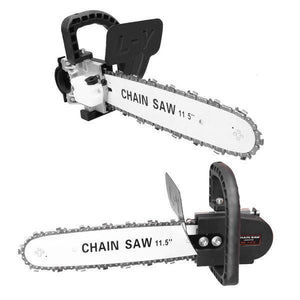 Angle Grinder Chainsaw Bracket Attachment (Angle Grinder Not Included)