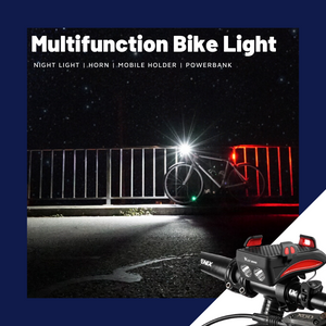 4in1 Multifunction Bike Light