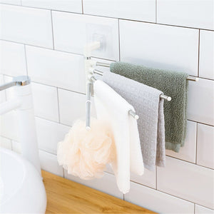 Four-Pole Minimalist Towel Rack