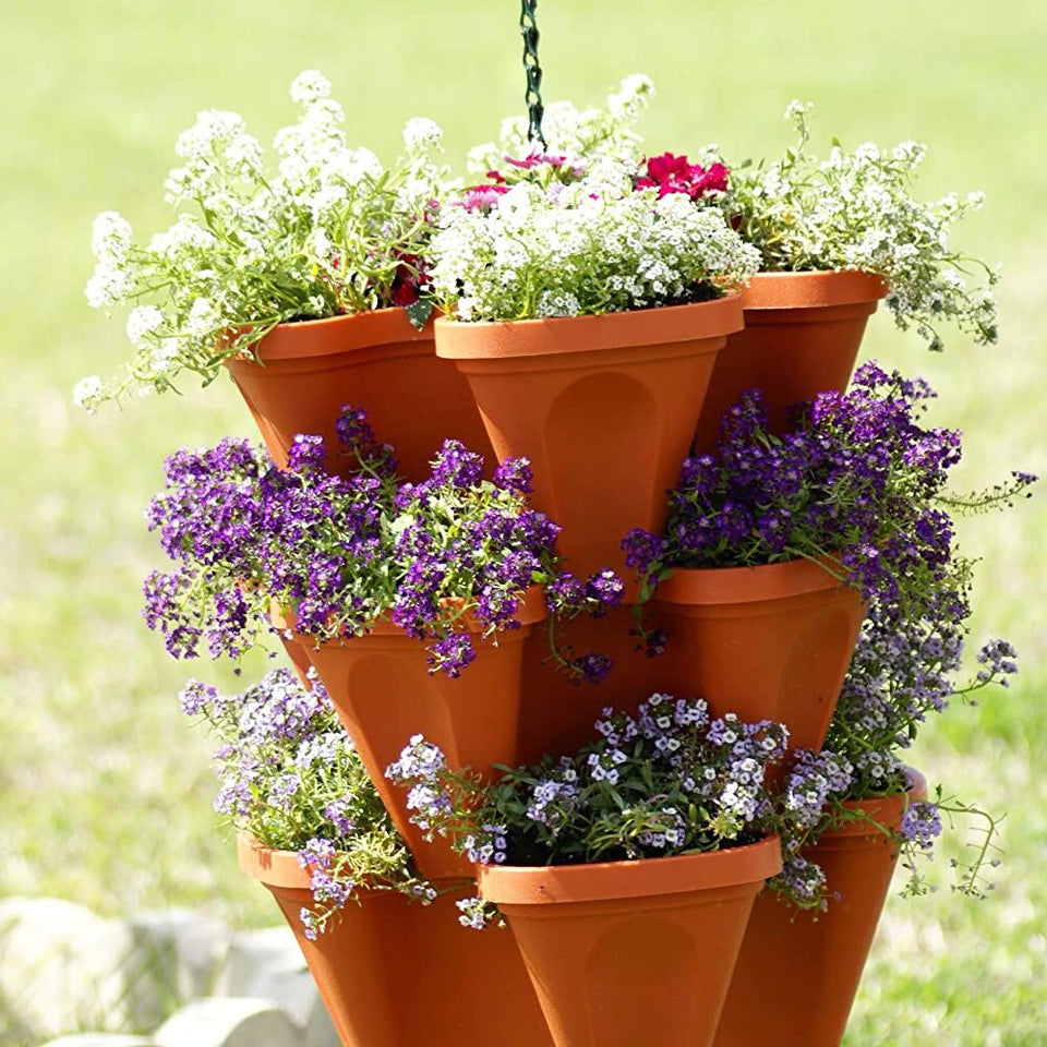 Plantita Tower Stacking Planter (6pcs. Set)
