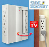 Swivelling Space Saving Socket (BUY 1 TAKE 1)