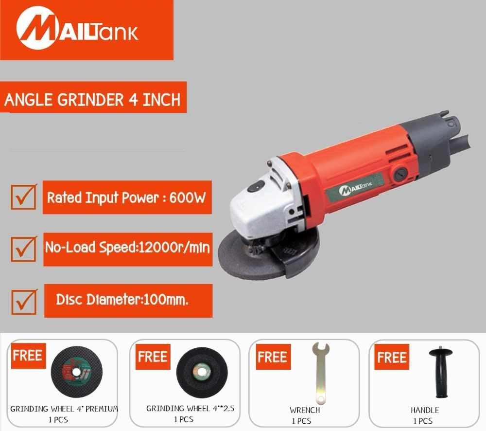 Mailtank 600W Angle Grinder