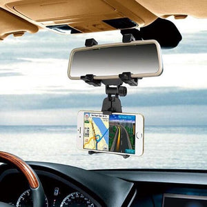 Rearview Mirror Bracket Mobile Holder