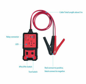 SC 12v Automotive Relay Tester