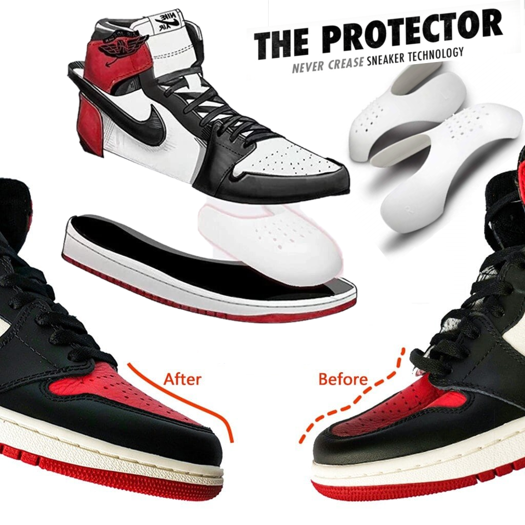 The Protector - Never Crease Sneaker Technology