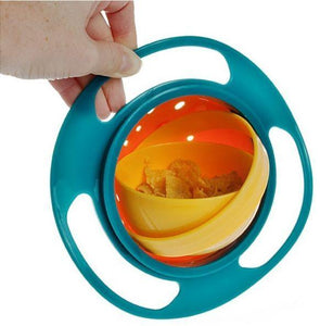 Spill-Free Gravity Bowl