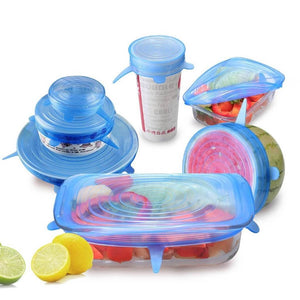 6pcs. Air Tight Sealing Lids