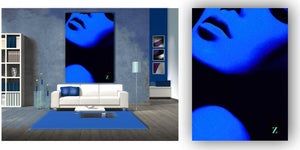 """Blue Rapture"" People Collection by CutZy McCall"
