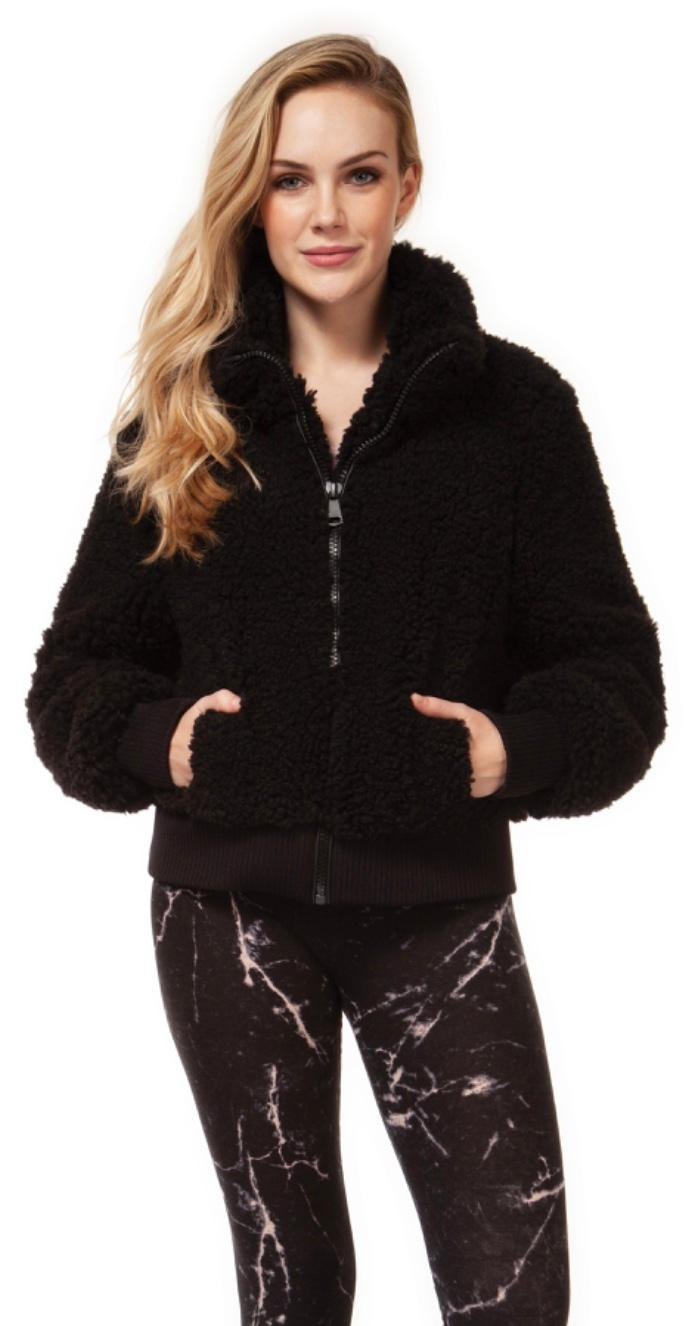 Dex fun fur bomber jkt