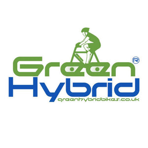 GREEN HYBRID BICYCLES