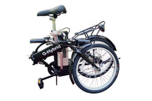 Load image into Gallery viewer, Freedom Folding e-bike with Lower Step Through and Throttle 36v Black