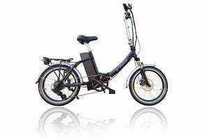 Freedom Folding e-bike with Lower Step Through and Throttle 36v Black