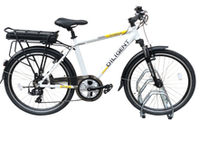 Load image into Gallery viewer, Commuter E-Bike G-Hybrid Diligent 36v Battery 7 Speed White
