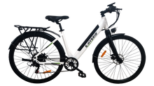 Load image into Gallery viewer, Commuter E-Bike G-Hybrid Elegent Step Through Unisex White
