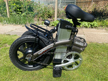 Load image into Gallery viewer, Folding E-Bike with Throttle G-Hybrid Compact Black