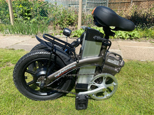 Folding ebike Compact Ebike with Throttle G-Hybrid Compact Grey