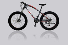 Load image into Gallery viewer, Fat Tyre Bikes G-Hybrid Mammoth FT03 Grey